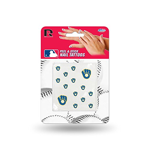 (Rico MLB Milwaukee Brewers Nail Tattoos)