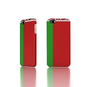 taoyix diy Apple iPhone 5 / 5S Case - The Best 3D Full Wrap iPhone Case - Belarus Flag