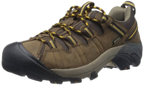 KEEN Men's Targhee II Hiking Shoe,  Cascade Brown/Golden Yellow - 10 D(M) US by KEEN