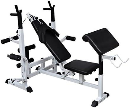 ghuanton Banco de musculación múltipleDeportes Fitness y ...