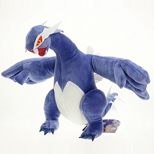 12 1pcs/set Pokemon Lugia Toys Dragon Figure Soft Stuffed Animal Plush Toy by BabyBlue Shop
