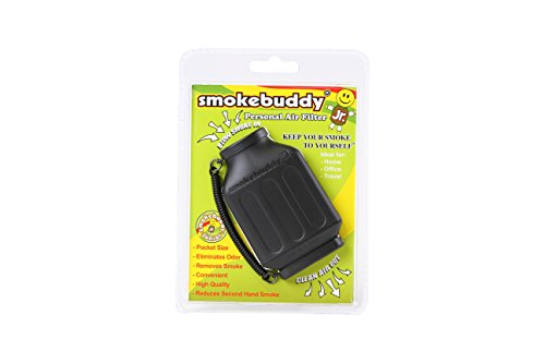 smokebuddy Jr Black Personal Air Filter ()