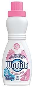 Woolite Delicates Hypoallergenic Liquid Laundry Detergent, 16 fl oz Bottle, Hand & Machine Wash
