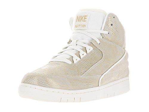 Baselayer metallic 5 t Nike shirt femme Crew 2 Gold Sail C7wnqHF