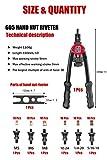 """RZX 13"""" rivet nut tool Nut/thread Hand Riveter"""