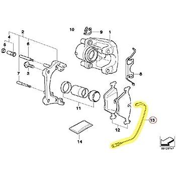 URO Parts 34 35 6 789 445 Rear Brake Pad Sensor