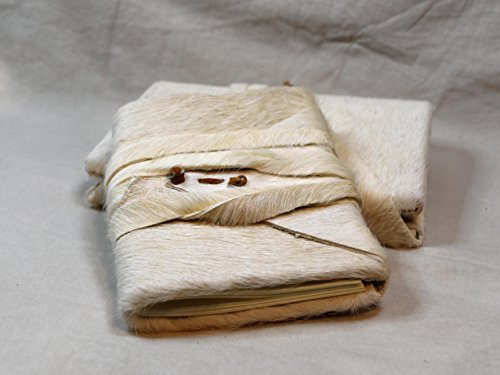 Handbound cowhide wrap journal or (Medieval Scribe Costume)