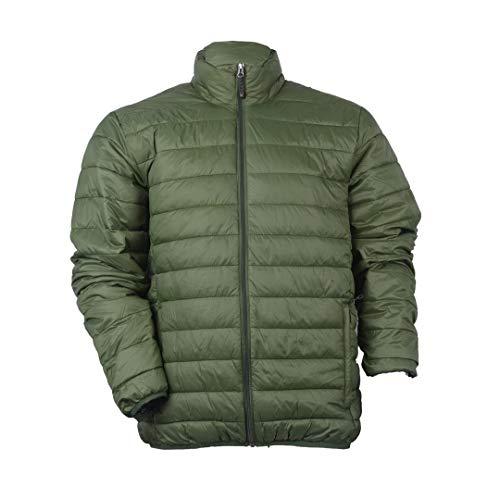 Hawke & Co Men's Heathered Lightweight Down Packable Puffer Vest, Black, X-Large (Hawke Vest Co)