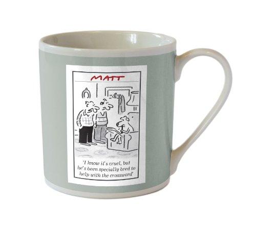 Matt Boxed 350ml Mug Dog (Grey)