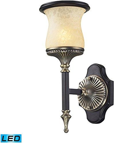 Elk Lighting 2420/1-LED Wall Sconce Antique Bronze ()