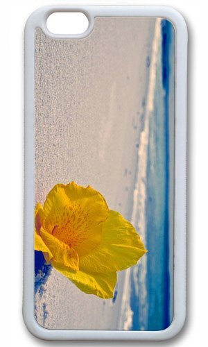 Beach Flowers Easter Thanksgiving Masterpiece Limited Design tpu white Case for iphone 6 by Cases & Mousepads