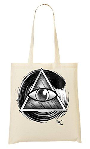 ShutUp Illuminati Bolso De Mano Bolsa De La Compra