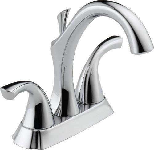 (Delta Faucet 2592-RBMPU-DST Addison Two Handle Centerset Bathroom Faucet, Venetian Bronze )