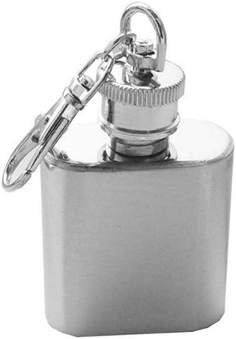 gzzebo Mini Poche en Acier Inoxydable pour Bouteille de vin flasque /à Visser Liqueur Whisky