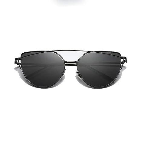 Gafas Mujeres/Moda masculina Tendencia Gafas de sol Metal ...