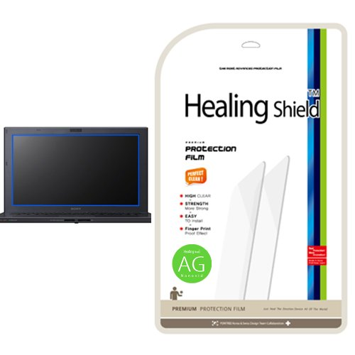 Healingshield AG Nanovid Anti-fingerprint Premium LCD Screen Protector for Sony Vaio SVZ13115