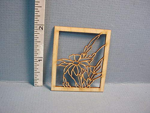Dollhouse Miniature Decorative Window Mullion #LW Laser Creations 1/12th Scale