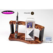 12 Pack Universal Fountain Pen Cartridges - Chocolat by Private Reserve