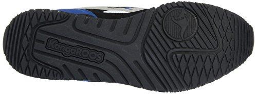 Black 2 Herren Niedrige Bunt Blue Kängurus Sneakers für Royal 450 Racer FwzRXq5S