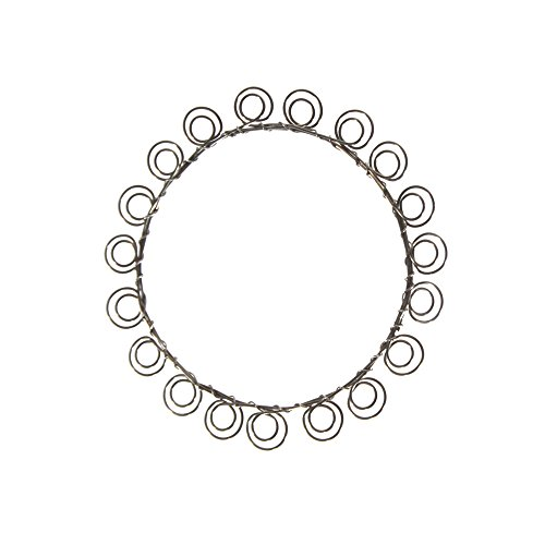 Wire Wreath Card and Picture Holder (28 Loop, approximately 14 inches in diameter), Wall Christmas and Holiday Card and Photo Display, Perfect ()