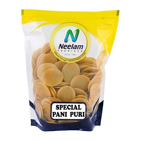 Neelam Foodland Ready-to-Fry Dry GOL Gappa (Pani Puris) (500g)
