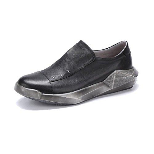 Stile Scarpe Trend Elegante Singole da Business personalit Stile NIUMT Atmosfera Stile Irregolare Casual Uomo 5zxwUxd7
