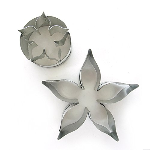 Rose Calyx Cutter Set (2 sizes) by ()