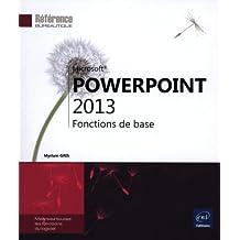PowerPoint 2013 - Fonction de base