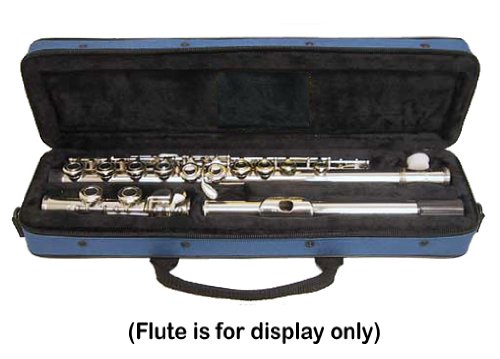 Sky ''C'' Flute Lightweight Case with Shoulder Strap (Sky Blue)