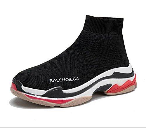 5 amanti EU40 KUKI scarpe scarpe elasticizzate 5 Calze piatte CN40 US8 sportive donna da UK6 wvgYwq