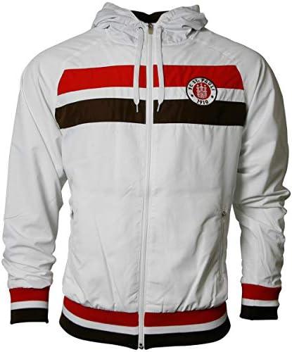 M FC St 2X FANERGY Traubenzucker Pauli Trainingsjacke Logo 2019 Braun