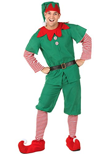 Holiday Elf Adult Costumes (Plus Size Holiday Elf Costume 5X)