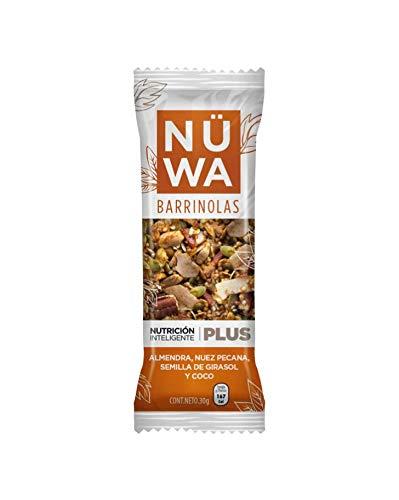 Barras de Superfoods de Coco, almendra y semillas (24 pz)