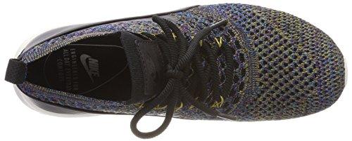 Nike Damen Air Max Thea Ultra Flyknit Sneaker Schwarz (Black/black-ivory-night Purple)
