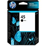 HP Products - HP - 51645A (HP 45) Ink, 830 Page-Yield, Black - Sold As 1 Each - Prints quality text. - Clog-free performance throughout the life of the print cartridge. - Simple to install and easy to replace. by HP