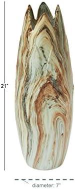 Deco 79 59764 Excellent Ceramic Marble Vase