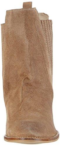 Black LilyMila Wedges black - botas de caño bajo Mujer Beige - Beige (camel)