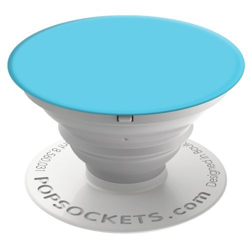 PopSockets: Collapsible Grip & Stand for Phones and Tablets - Light Blue
