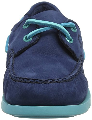 Chatham Damen Pippa Ii G2 Bootsschuhe Blue (Navy Turquoise 008)