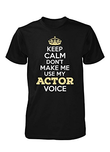 Actor Voice. Personalized Gift - Unisex Tshirt