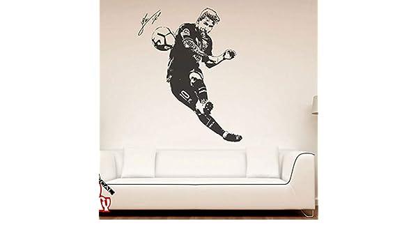 pegatina de pared etiqueta de la pared Lionel Messi Tatuajes de ...