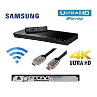 Samsung UBD-M9000 UHD (Ultra High Defenition ) Bluray / DVD / CD Player / SMART / WIFI Ready / HDR / 7.1 CH Dolby HD Audio / Unified Remote + Flat HDMI Cabl