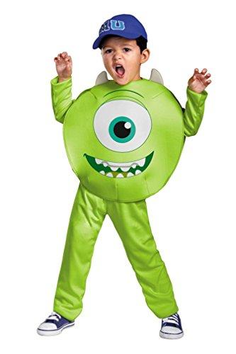 Disney Pixar Monsters University Mike Toddler Classic Costume, -
