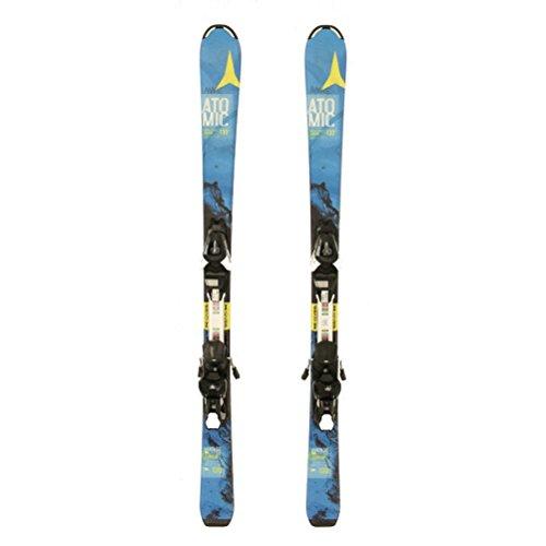 - Used 2016 Atomic Vantage Jr Kids Skis EZYTRAK Bindings A Condition - 100cm