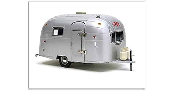 Aluminum Travel Trailers >> Amazon Com B2b Replicas Mot88101 Motor City Classic