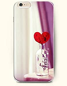 SevenArc Apple iPhone 6 Case 4.7 Inches - Love and Bottle