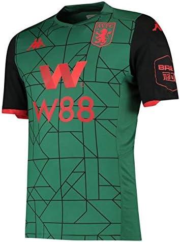 Passtheball New Aston Villa T-Shirt Third 3rd Jersey Football Green Shirt 19//20