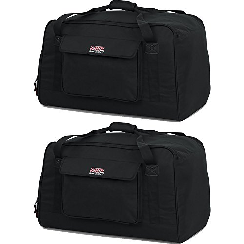 Gator GPA Tote Bag Pair for 12'' Speakers (2 Bags) by Gator