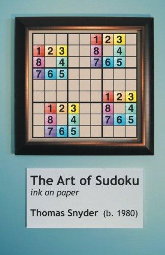 Download The Art of Sudoku pdf epub