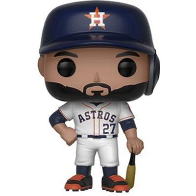 Funko POP!: Major League Baseball José Altuve Collectible Figure, Multicolor: Funko Pop!:: Toys & Games